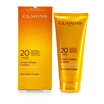 ClarinsCrema Protecci�n Solar Moderada 20 UVB/UVA 200ml/7oz