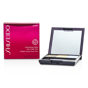 Shiseido Luminizing Satin Eye Color Trio - # GD804 Opera  3g/0.1oz