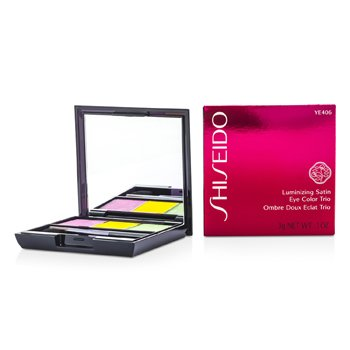ShiseidoLuminizing Satin Eye Color Trio - # YE406 Tropicalia 3g/0.1oz