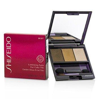 Shiseido Tr�o Color de Ojos Satinados Iluminadores - # BR307 Strata  3g/0.1oz