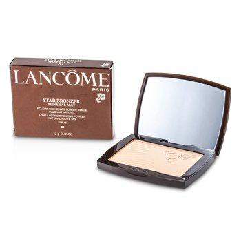 LancomeStar Bronzer Mineral Mat Long Lasting Bronzing Powder SFP15 (Natural Matte Tan)12g/0.42oz