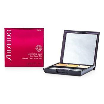 Shiseido Tr�o Color de Ojos Satinados Iluminadores - # BR209 Voyage  3g/0.1oz