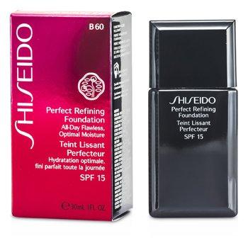 Shiseido Perfect Refining Alas Bedak SPF15 - # B60 Natural Deep Beige  30ml/1oz