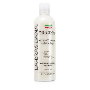 La-Brasiliana Original Keratin Treatment with Collagen 500ml/16.9oz hair care