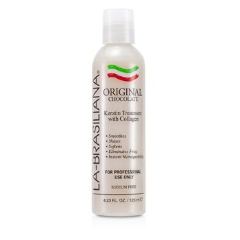 La-Brasiliana Original Chocolate Keratin Treatment With Collagen  125ml/4.23oz