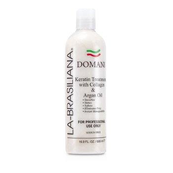 La-Brasiliana Domani Keratin Treatment With Collagen & Argan Oil 500ml/16.9oz