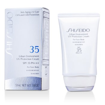 ShiseidoUrban Environment UV Protection Crema SPF 35 PA+++ ( For Face & Body ) 50ml/1.8oz