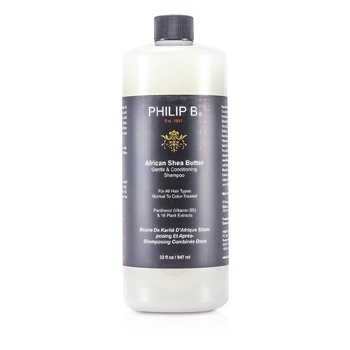 Philip BAfrican Shea Butter Gentle & Conditioning Shampoo (For All Hair Types, Normal to Color-Treated) 947ml/32oz