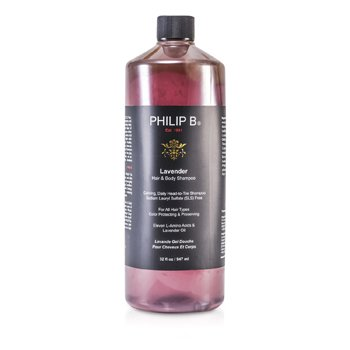 Philip BLavender Hair & Body Shampoo (For All Hair Types, Color Protecting & Preserving) 947ml/32oz