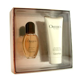 Calvin Klein Obsession Coffret: Eau De Toilette Spray 30ml/1oz + After Shave Balm 100ml/3.4oz  2pcs