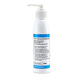 MuradAnti Aging Hidratante  SPF 20 PA++ (Tamanho profissional ) 120ml/4oz