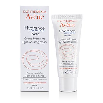 AveneHydrance Optimale Light Creme hidratante  (For Normal To Combination Sensitive Skin) 40ml/1.35oz