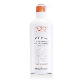 AveneGel de limpeza Cold Cream Ultra Rich  400ml/13.52oz