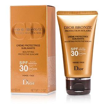 Christian Dior Dior Bronze Cuidado Solar Embellecedor Protector SPF 30 Para Rostro  50ml/1.7oz