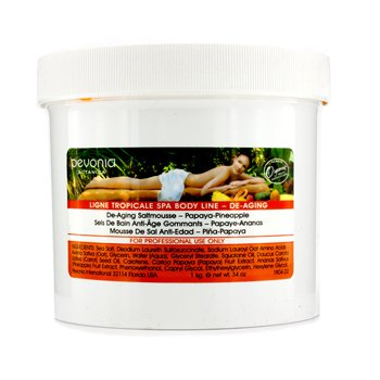 Pevonia BotanicaDe-Aging Saltmousse - Papaya-Pineapple (Salon Size) 1kg/34oz