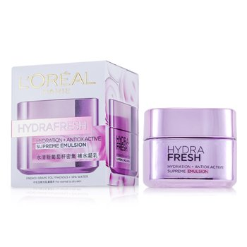 L'Oreal ����Ū�蹺��ا��Ǫ������ Hydra Fresh Hydration+ Antiox Active Supreme   50ml/1.7oz