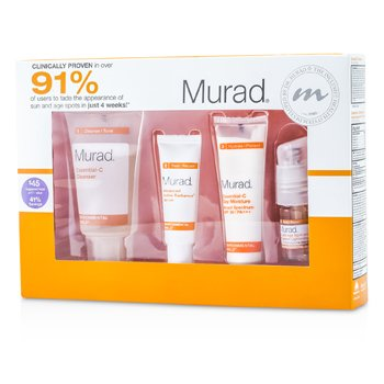 MuradSun Undone Radiant Renewal Kit 4pcs