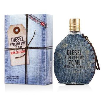 Diesel Fuel for Life Denim Collection Homme Eau De Toilette Spray 75ml/2.5oz