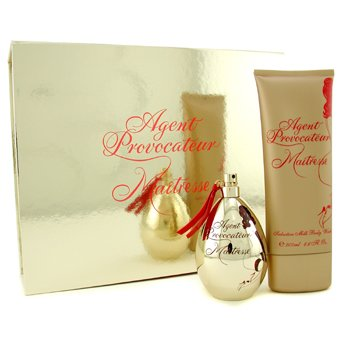 Agent Provocateur Maitresse Coffret: Eau De Parfum Spray 100ml /3.3oz+ Body Wash 200ml/6.7oz 2pcs