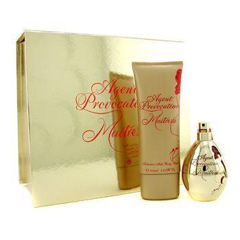 Agent Provocateur Maitresse Coffret: Eau De Parfum Spray 50ml/1.7oz+ Body Wash 100ml/3.4oz 2pcs