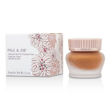 Paul & Joe Creamy Matte Foundation - # 60 (Spice)  30ml/1.1oz