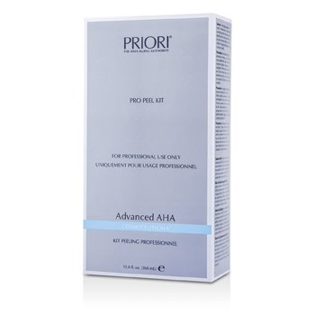 PrioriAdvanced AHA PRO Set Exfoliantee ( Tama�o Sal�n ) : Soluci�n Pre-Exfoliantee+  Gel Exfoliantee Multi capas 2x180ml/6oz