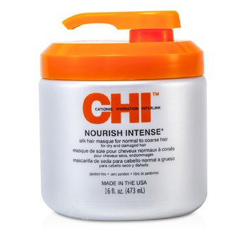 CHINourish Intense Silk Hair Masque (ForDry & Damaged Hair) 450ml/16oz