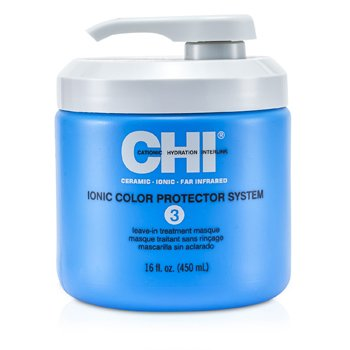 CHI Ionic Color Protector System 3 Leave In Treatment Masque  450ml/16oz