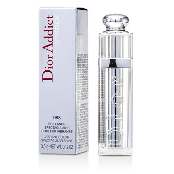 Christian Dior Dior Addict Be Iconic Vibrant Color Spectacular Shine Lipstick - No. 983 Insoumise 3.5g/0.12oz