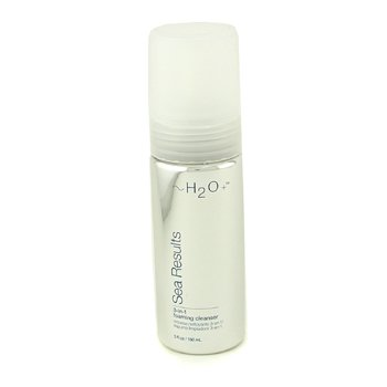 H2O+Sea Results 3 in 1 Foaming Cleanser 150ml/5oz