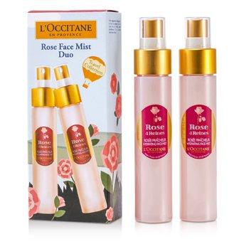 Rose 4 Reines - Tratamento diurnoRose Face Mist Duo: 2x Rose 4 Reins Hydrating Face Mist 2x50ml/1.7oz