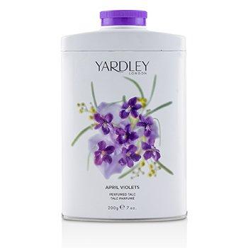 Yardley April Violets Perfumed Talc  200g/7oz