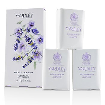 Health & Beauty Yardley By Yardley English Lavender Luxury Soaps 3x3.5 Oz Each