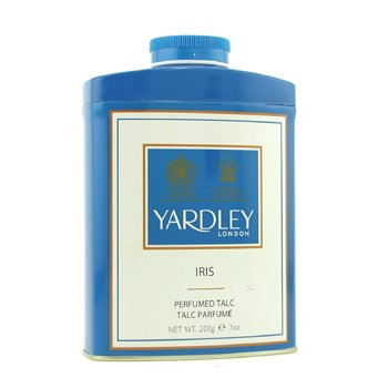 Yardley Iris Pefrumed Talc  200g/7oz