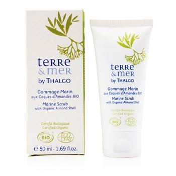 Thalgo Terre & Mer Marine Scrub with Organic Almond Shell 50ml/1.69oz