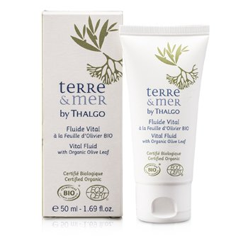Thalgo Terre & Mer Vital Fluid with Organic Olive Leaf 50ml/1.69oz
