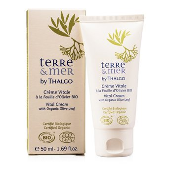 ThalgoTerre & Mer Crema Vital con Hoja de Olivo Org�nico  50ml/1.69oz