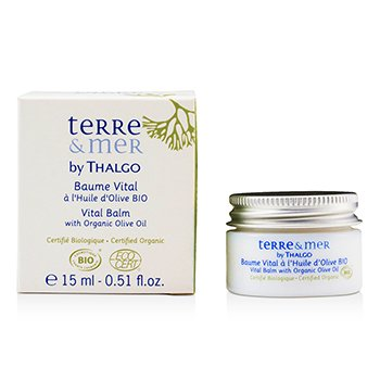 ThalgoTerre & Mer Vital Balm with Organic Olive Oil 15ml/0.5oz