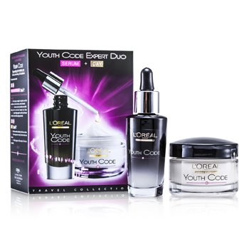 L'Oreal Dermo-Expertise Youth Code Expert Duo: Serum + Day  2pcs