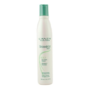 Lanza Shampoo Plus Hair & Body Cleanser  300ml/10.1oz