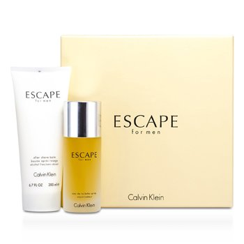 Calvin KleinEstuche Escape : Eau De Toilette Spray 100ml/3.4oz + B�lsamo Para Despu�s de Afeitar 200ml/6.7oz 2pcs