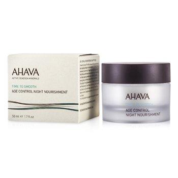 AhavaTime To Smooth Age Control Nutriente Antienvejecimiento noche 50ml/1.7oz