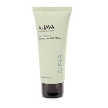 Ahava Time To Clear Rich Crema Limpiadora  100ml/3.4oz