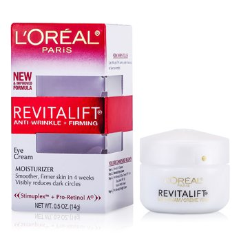L'OrealCreme RevitaLift Anti-Wrinkle +Creme Firming Eye Cream 14g/0.5oz