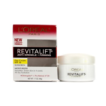 L'OrealRevitaLift Anti-Wrinkle + Firming Day Cream SPF 18 48g/1.7oz