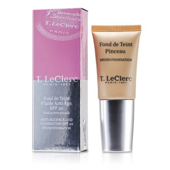 T. LeClerc Anti Ageing Fluid Foundation SPF20 - # 04 Dore Satine  30ml/1oz