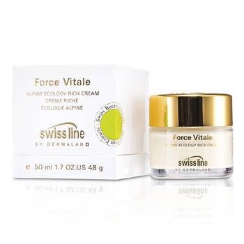 Swissline Force Vitale Alpine Ecology Crema Rica  50ml/1.7oz