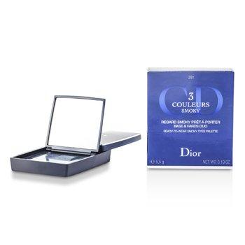 Christian Dior 3 Couleurs Smoky Ready To Wear Eyes Palette - # 291 Smoky Navy 5.5g/0.19oz