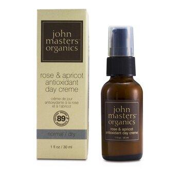 John Masters Organics Rose & Apricot Crema Antioxidante D�a ( Piel Normal/Seca )  30ml/1oz