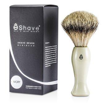 EShaveFinest Badger Long Shaving Brush - White 1pc